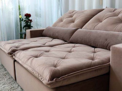 Sofa Retratil Orlando 510 Rose 2