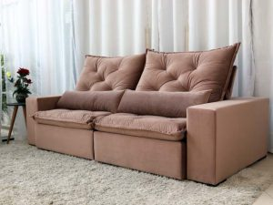 Sofa Retratil Orlando 510 Rose 5