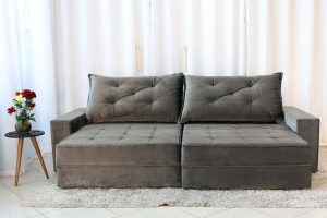 Sofa Retratil Reclinavel Berlim 2.90 814 Cinza Escuro 2 e1598484806641
