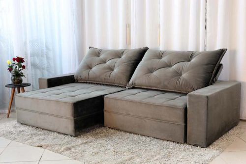 Sofa Retratil Reclinavel Berlim 2.90 814 Cinza Escuro 4 e1598484733579