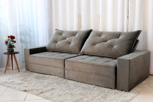 Sofa Retratil Reclinavel Berlim 2.90 814 Cinza Escuro 5 e1598484703646