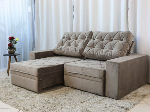 Sofa Retratil Reclinavel LisboaCinza Claro 2 1 e1598644115329