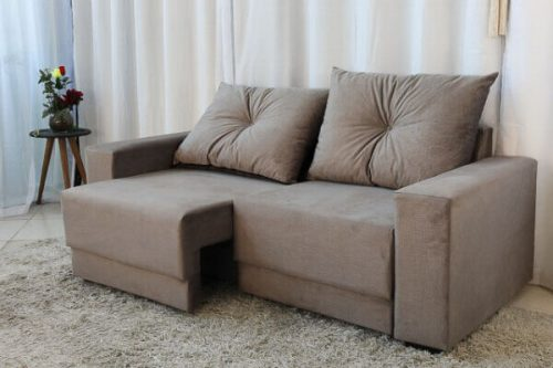 Sofa Retratil e Reclinavel 3 Lugares Arezzo Cinza 2 e1598435646828