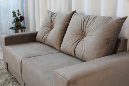 Sofa Retratil e Reclinavel 3 Lugares Arezzo Cinza 4 e1598435519868