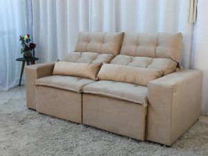 Sofa Retratil e Reclinavel 3 Lugares Beatriz Bege – Estofarmart 3 e1598627012518