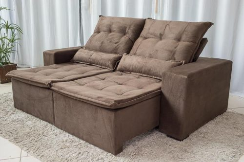Sofa-Retratil-Reclinavel-Egito-2.10m-Molas-Bonnel-Marrom-B03