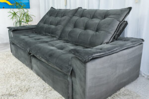 Sofa-Retratil-Reclinavel-Atenas-2.50m-Veludo-Cinza-814-D33-Soft