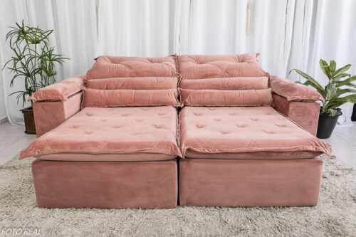 Sofa-Retratil-Reclinavel-Dubai-Luxo-2.30m-Veludo-Rosa