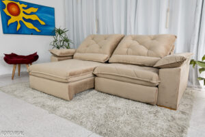Sofa-Retratil-Reclinavel-Zurique-2.50m-Veludo-Bege-Molas-Ensacadas